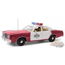 1977 Dodge Monaco - Finchburg County Sheriff -  Greenlight 1/18 -  Artisan 19097 PASSION DIECAST