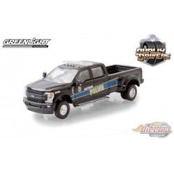 2019 Ford F-350 - Baltimore, Maryland Police Department - Dually Drivers  5 - Greenlight 1-64 - 46050 F