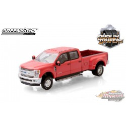 2019 Ford F-350 Dually in Race Red - Dually Drivers  5 - Greenlight 1-64 - 46050 E -  Passion Diecast