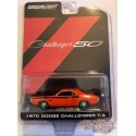 1970 Dodge Challenger T/A  50th - Anniversary Collection 11 - 1-64 GREENMACHINE - 28040 BGR