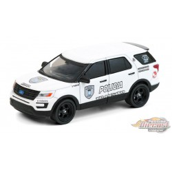 2016 Ford Interceptor Utility - Bayamon City Police Department, Puerto Rico - greenlight 1/64  Hobby Exclusive - 30210