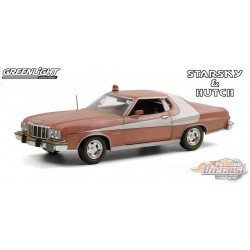 1976 Ford Gran Torino Starsky and Hutch Weathered Version -  Greenlight 1/24 , 84121 - Passion Diecast