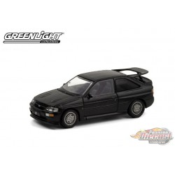 1994 Ford Escort RS Cosworth -  BB Rally Racing Team - Black Bandit Series 24   1-64 Greenlight 28050 D - Passion Diecast
