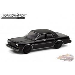 1987 Plymouth Gran Fury - Black Bandit Series 24   1-64 Greenlight 28050 C - Passion Diecast