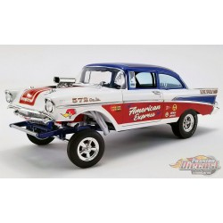 1957 CHEVROLET BEL AIR GASSER - AMERICAN EXPRESS -  ACME 1/18  A1807007   Passion Diecast