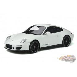 Porsche 911 (997.2) GTS  White - GT Spirit 1/18 - GT287  -  Passion Diecast