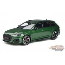 Audi RS 4 Avant  Green - GT SPIRIT 1/18 -  GT296 -  Passion Diecast