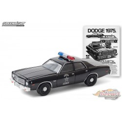 1975 Dodge Coronet State Police -Vintage Ad Cars Series 3 - 1-64 Greenlight 39050 D - Passion Diecast