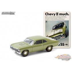 1968 Chevrolet Nova SS  Chevy II much  -Vintage Ad Cars Series 3 - 1-64 Greenlight 39050 A - Passion Diecast