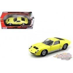 Lamborghini Miura P400S  Yellow - Motormax 1/24- 73360 - Passion Diecast