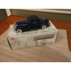 1934 buick 96-s coupe royal blue Brooklin 1/43 BRK.133