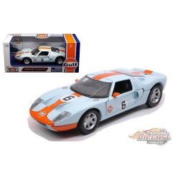 Ford GT, Gulf Oil - Motormax 1/24  - 79641  - Passion Diecast