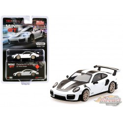 Porsche 911 GT2 RS White Metallic -  MINI GT 1:64 - Mijo Exclusive - MGT00086 -  Passion Diecast