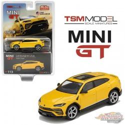 Lamborghini Urus Giallo Auge -  MINI GT 1:64 - Usa Exclusive - MGT00113 - Passion Diecast  -  Passion Diecast