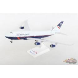 """British Airways Boeing 747-400 """"Landor"""" / Train - Gears / SKYMARKS 1/200 SKR1030 Passion  Diecast"""