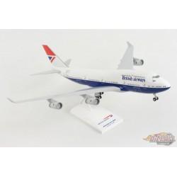 """British Airways Boeing 747-400 """"Negus"""" / Train - Gears / SKYMARKS 1/200 SKR1037 Passion  Diecast"""