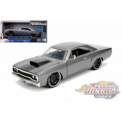 Dom's Plymouth Road Runner - Fast & Furious -  Jada 1/24 - 30745 -  Passion Diecast