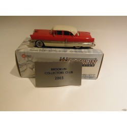 1956 Packard Patrician B.B.C 2003 special 1/240 red/white - Brooklin 1/43 BRK.6x  - Passion Diecast