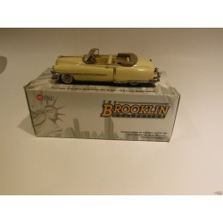 1952 Cadillac series 62 convertible coupe yellow - Brooklin 1/43 BRK.168  - Passion Diecast