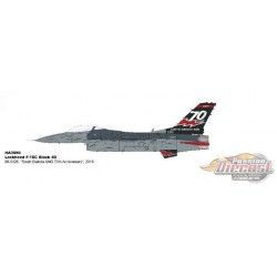 Lockheed F-16C Fighting Falcon - USAF 114th FW, 175 FS Lobos SD ANG 70 Years 2016 - Hobby Master 1/72 HA3880  - Passion Diecast