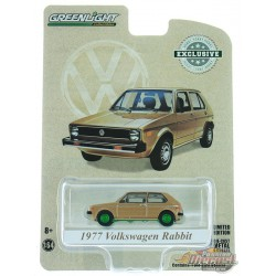 1977 Volkswagen Rabbit - The Champagne Edition -  Hobby Exclusive 1/64 GREENMACHINE 30099GR