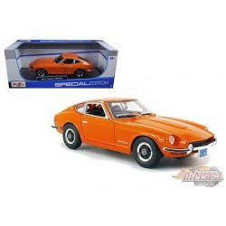 Datsun 240Z - Fairlady Z 1970 Orange Maisto 1/18 - 31170 OR - Passion Diecast