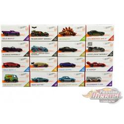 Hot Wheels  ID 1:64  ''H'' Case  -  Assortment -  Set of 16 Cars - FXB02-999H