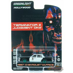 1987 Chevrolet Caprice Metropolitan Police - Terminator 2: Judgement Day - Hollywood 29 - 1-64 GREENMACHINE - 44890 FGR