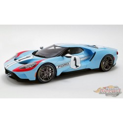 1/18 2020 FORD GT - NO1 1966 LE MANS - HERITAGE EDITION - US027