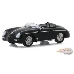 1958 Porsche 356 Speedster Super Cabriolet - Top Down (Version restaurée) -  Greenlight 1/43 86539 - Passion Diecast