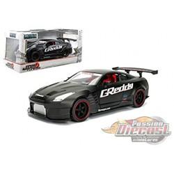 2009 Nissan GT-R (R35) Ben Sopra Black - JDM Tuners -  Jada 1/24 -  98646 BK - Passion Diecast