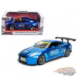2009 Nissan GT-R (R35) Ben Sopra Blue - JDM Tuners -  Jada 1/24 - 98647 BL - Passion Diecast