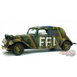 CITROËN TRACTION 11B  FFI  1944 - Solido  1/18 - S1800902 Passion Diecast