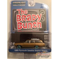Carol Brady's 1969 Plymouth Satellite Station Wagon - The Brady Bunch  - Hollywood 29 - 1-64  GREENMACHINE - 44890 BGR