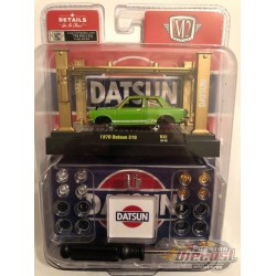 1970 Datsun 510 Model Kit Release 32 - M2 Machine Hobby Exclusive 1:64 - 37000-32GR Passion Diecast