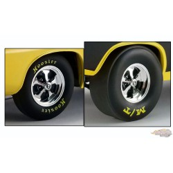 Keystone  Drag  Wheel & Tire Pack  1/18 Acme A1806118W Passion Diecast