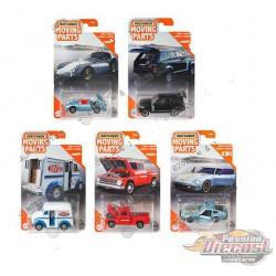 Matchbox 1:64 Articulated Cars  ''G'' Case  -  Assortment -  Set of 8 Cars - FWD28-956G