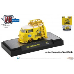 1960 Volkswagen Delivery Van Custom Short Wheelbase EMPI  -CHASE CAR M2 Machines 1:64 Hobby Exclusive - 31500 HS11GR