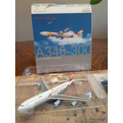 "Dragon Wings 1/400 Airbus A340-300 Austrian Airlines ""Philharmoniker"" / OE-LAL - Passion Diecast"