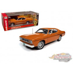 1970 Plymouth Duster 340 Vitamin C  Orange -  Autoworld -1-18 -  AMM1239 -  Passion Diecast