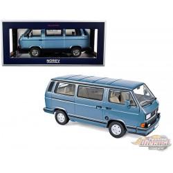 1990 Volkswagen Multivan Bus Light Blue -  1/18  Norev 188544 - Passion Diecast