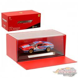 Ferrari 308 GTB n°3 Rallye Monte Carlo 1982 Andruet, Biche -  Bburago  1/43 - 36304 - Passion Diecast