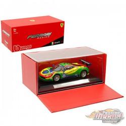 Ferrari 458 Italia GT3 n°64 24h Daytona 2015 Scuderia Corsa -  Bburago  1/43 - 36305 - Passion Diecast