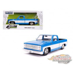 1985 Chevrolet Silverado C10  Pickup Blue - Just Truck -  JADA 1/24 -  31606 -  Passion Diecast