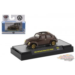 1963 VW Beetle Deluxe U.S.A. Model - Auto-Trucks Release 62  - M2 Machines 1-64 - 32500-62 B - Passion Diecast