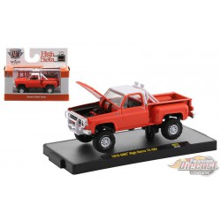 1976 GMC High Sierra 15 4x4 Orange  - Auto-Trucks Release 62  - M2 Machines 1-64 - 32500-62 A  - Passion Diecast