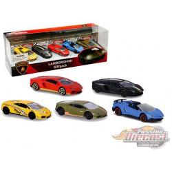 Lamborghini Giftpack 5-Car Assortment - Majorette 1:64 - 212053162  - Passion Diecast