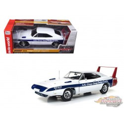 1969 Dodge  Daytona LA & Orange County Dealers -  Autoworld -1-18 -  AMM1091  - Passion Diecast