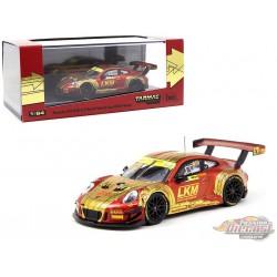 Porsche 911 GT3 R n°912 LKM Macau GT Cup FIA GT World Cup - Tarmac Works  1/64 - T64-032-18MG - Passion Diecast