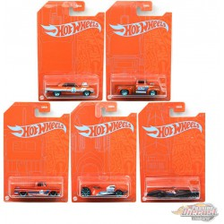 Hot Wheels 1:64 Orange And Blue EMC Exclusive 2020 A Assortment Set of 5 pcs - GRR35-956A  - Passion Diecast